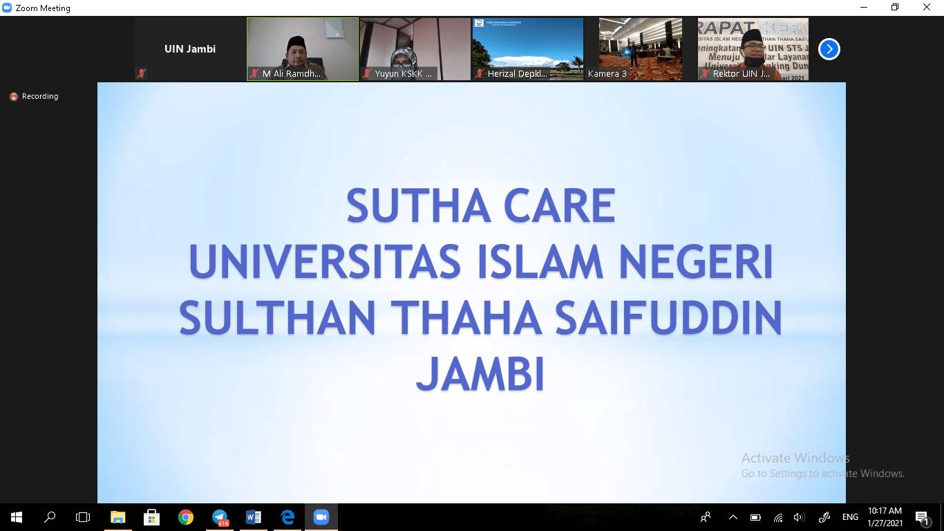 "Dirjen Pendis Launching ""Sutha Care"""