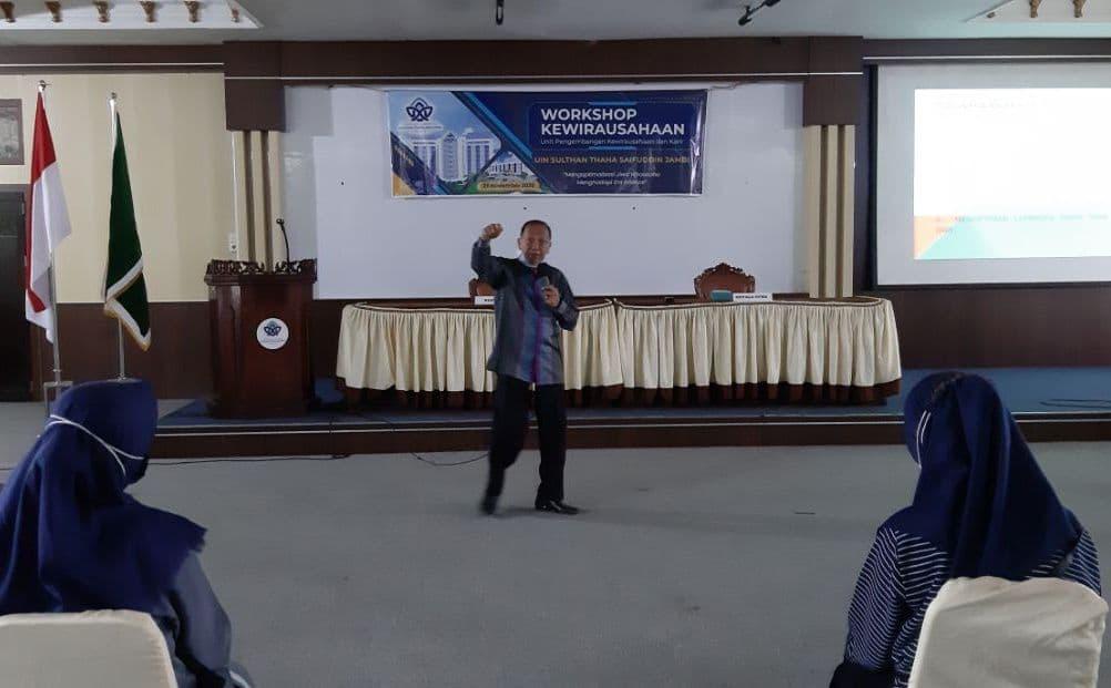 Optimalkan Jiwa Wirausaha UPKK UIN Jambi Gelar Workshop