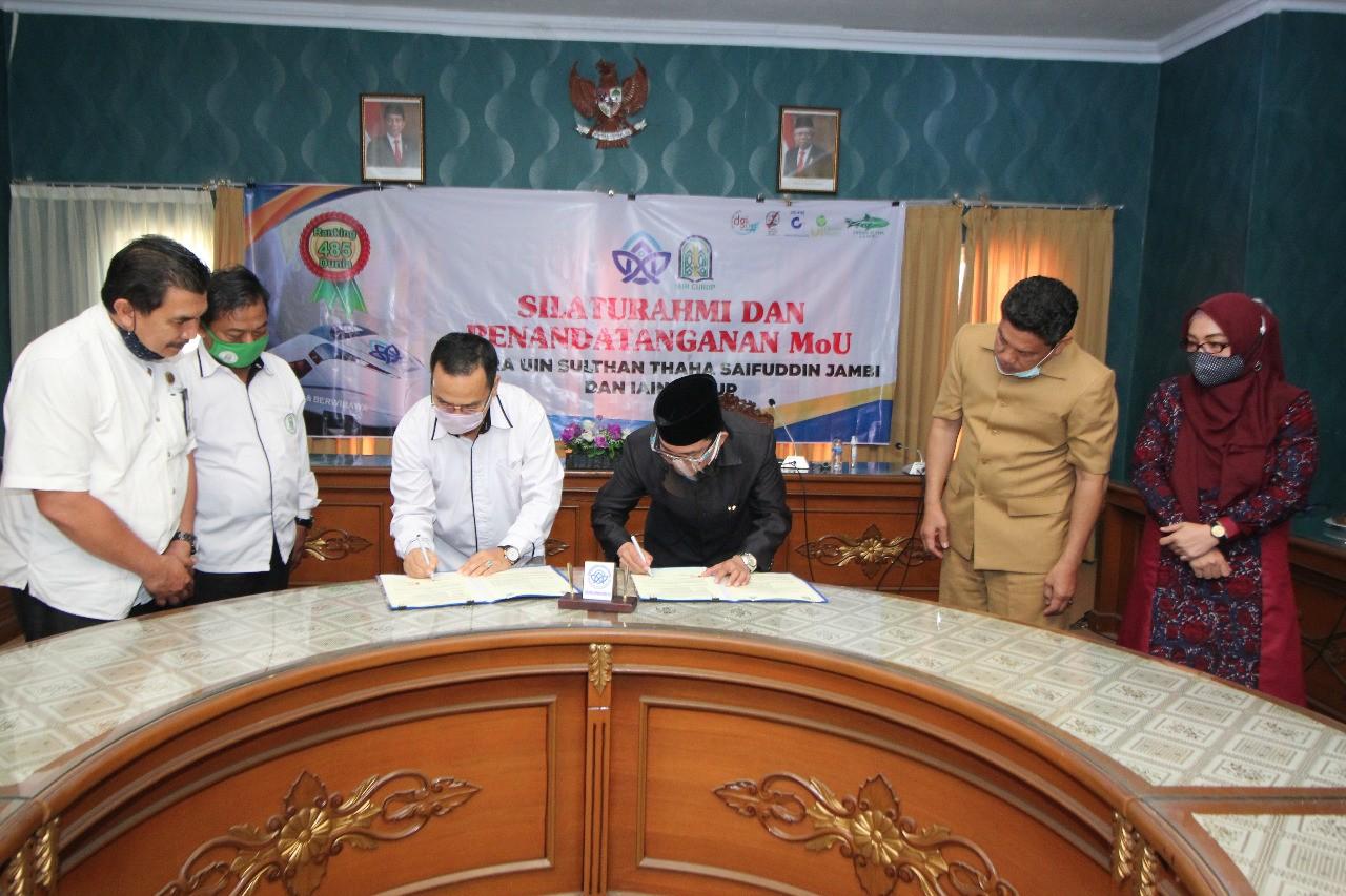 Jalin MoU dengan IAIN Curup, Sinergi Membangun Indonesia