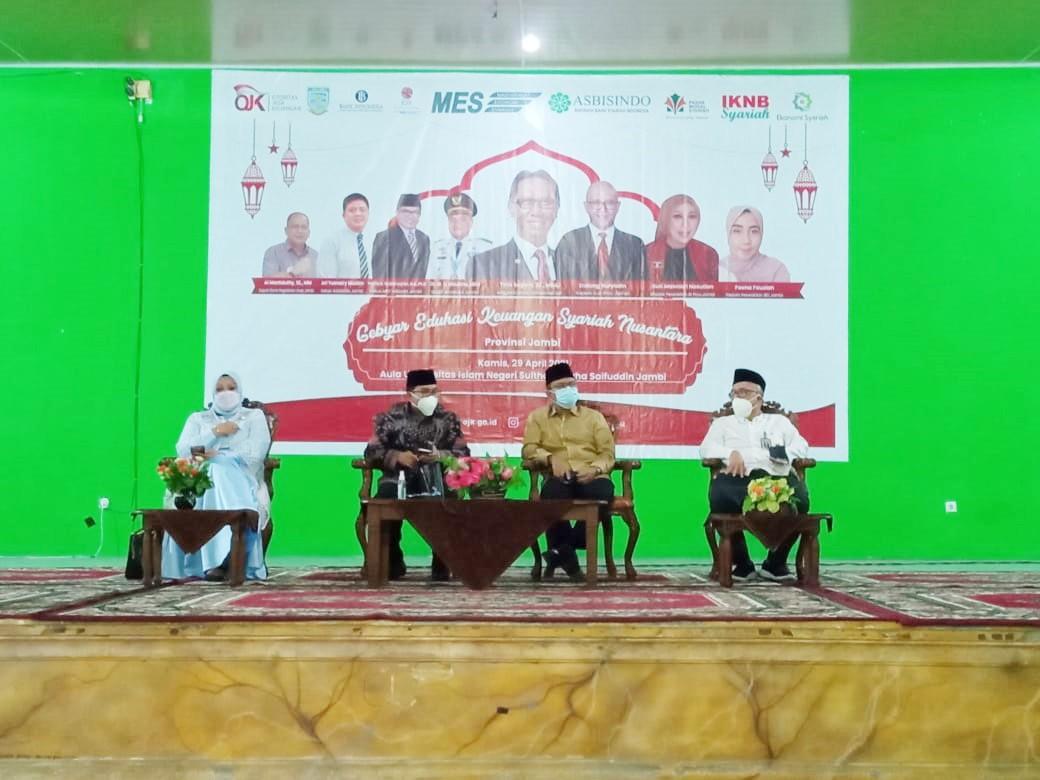 UIN STS Jambi Bersama OJK Gelar Gebyar Edukasi Keuangan Syariah Nusantara