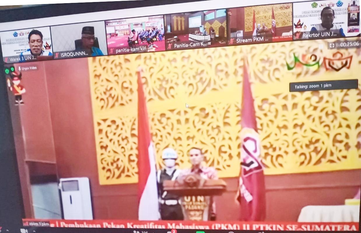 Pembukaan PKM II PTKIN se-Sumatera