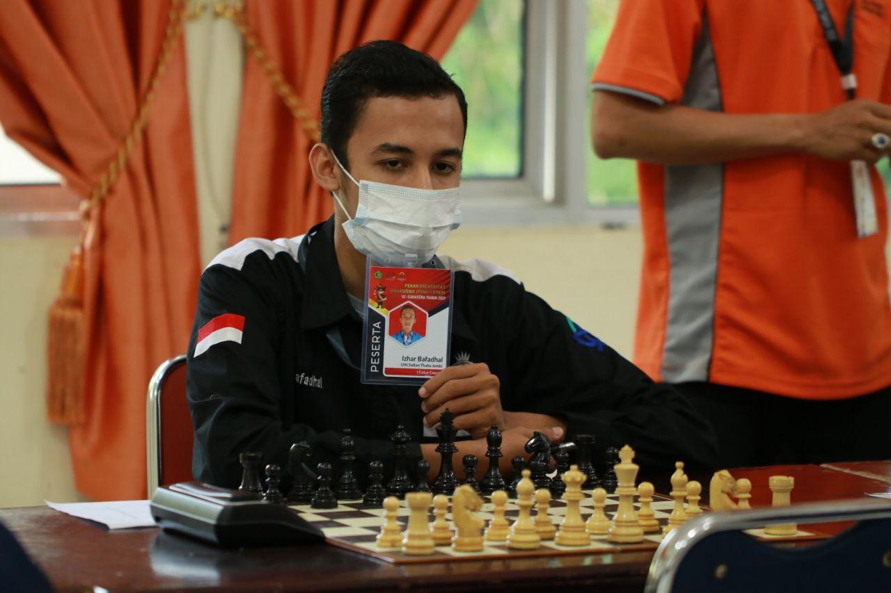 Izhar Bafadhal Juarai Catur Putra PKM II Se-Sumatera