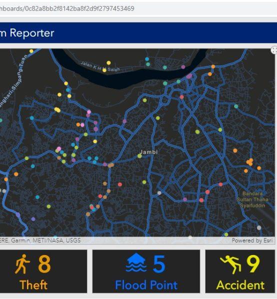 Pusat Kajian SDGs Kembangkan Geospatial Dashboard For Problem Reporter
