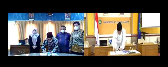 Merdeka Belajar – Kampus Merdeka, UIN STS Jambi-Universitas Bung Hatta Tandatangani MoU