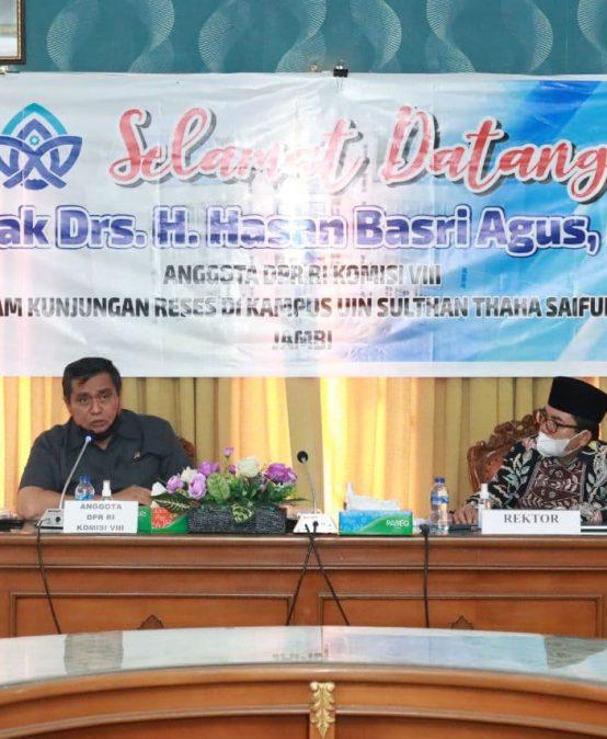 Kunjungan Reses : HBA Dukung Pembangunan UIN
