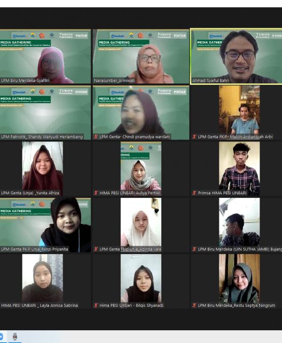 LPM Biru Merdeka ikuti Pelatihan Menulis Bersama Tanoto Fondation