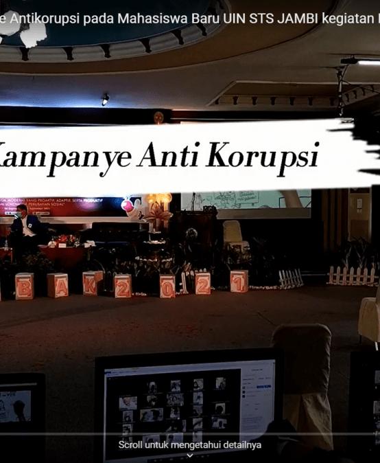 Pusat Kajian Kampanyekan Budaya Anti Korupsi